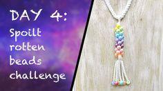 DAY 4: Kumihimo Challenge - Braided Pendant