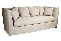 Aragon Sofa, Natural (Zentique)