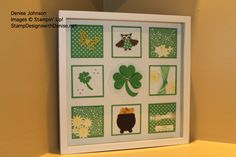 St. Patrick's Day Sampler using all Stampin' Up! products
