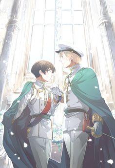 Japan and England Hetalia