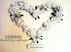 Wedding wallheart