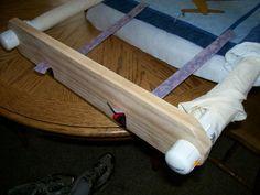 New homemade quilt frame!