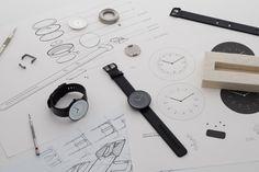 Scottish watch brand Nomad is pairing once again with industrial designer Samuel Wilkinson to launch a second beautifully minimalist watch collection. Dezeen Watch Store, Ästhetisches Design, Sketch Design, Design Concepts, Creative Design, Graphic Design, London Design Festival, 3d Prints, Design Furniture