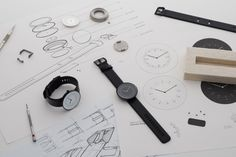 Line Collection watches by Nomad & Samuel Wilkinson » Retail Design Blog