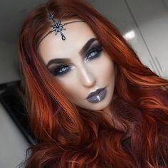 With love, Nadia ( Red Copper Hair Color, Cute Hairstyles, Halloween Face Makeup, Make Up, Skin Care, Photo And Video, Hair Styles, Beauty, Instagram