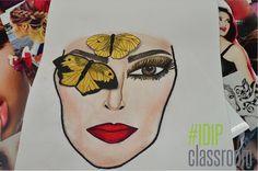 Tardes de shooting y creación de maquillajes de inspiración en IDIP  www.idip.com.mx  #maquillaje #makeup #color #beauty #fashion #style #estilo #look #IDIP