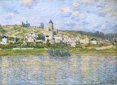 Vétheuil (3), 1879 de Claude Monet (1840-1926, France)