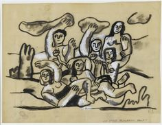 Study for The Bathers. Fernand Leger