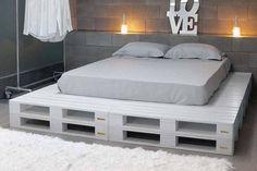 pallet bed - Pesquisa Google