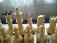 beantiful competition chess piece
