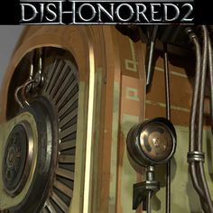 Lightchamber Dishonored 2, Eric Pira on ArtStation at https://www.artstation.com/artwork/qdZZL