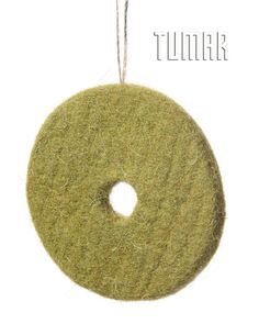 Mobile toy decorations for Christmas tree. Felt - 100% wool. Handmade, solid-rolled. Technique - felt sculpture. Christmas collection 2016. Tumar Art Group.
