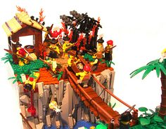 The Treasure of Indigo Isle #lego