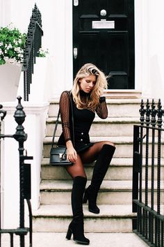 how to wear over the knee boots 2