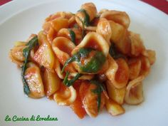 Orecchiette rucola e patate - Ricetta pugliese | La cucina di Loredana