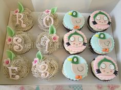 Sarah And Duck Cake Topper