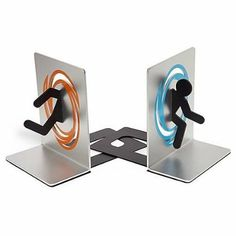 Amazon.com : Portal 2 Bookends for Shelf and Books - Officially Licensed Portal Collectible : Games : Toys & Games $35.30 as of Feb, 2014