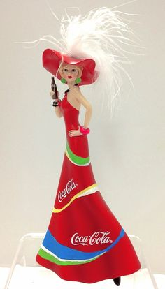 Sparkling Thrill-Lifes Brighter with Coca Cola Bradford Exchange Lady Figurine