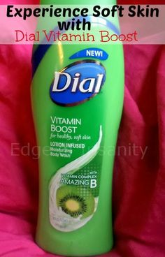 Edge of Insanity: Experience soft skin with Dial Vitamin Boost Body Wash!