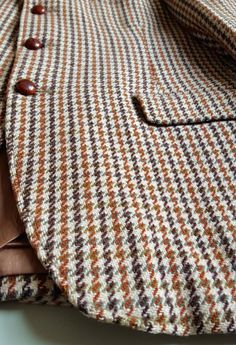 DUNN & CO HAND WOVEN HARRIS TWEED SHOOTING JACKET MADE IN SCOTLAND MENS WOOL…