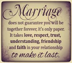 Marriage.