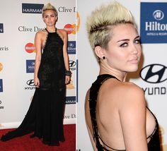 Miley Cyrus, el alma de la fiesta previa a los Grammy #cantantes #singers #people #celebrities #famosas