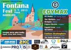 Plagát Fontana Fest Bardejov