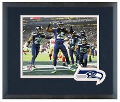 The Seattle Seahawks Celebrate Winning the 2013 NFC Championship Game -1/19/14