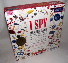 I Spy Scholastic Game of Picture Riddles for Kids - Great for Home School Kids! FREE SHIPPING - Order today from #BienleinDesignFinds on #eBay! - http://www.ebay.com/itm/I-Spy-Memory-Game-Picture-Riddles-Scholastic-Cards-Home-School-Kids-FREE-SHIP-/380991024850 #Kids #Games #ISpy