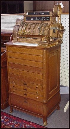 antique multiple drawer national cash registers..sold several of these over the years at Antiques Oronoco/Antiques Rochester