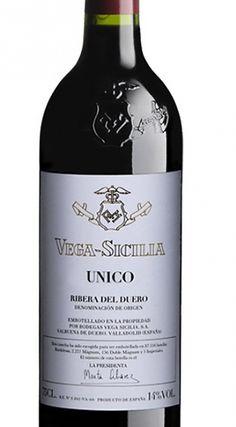 VEGA SICILIA ÚNICO 2007 95% Tinto Fino y 5% Cabernet Sauvignon Ribera del Duero 249,00 € IVA incl.