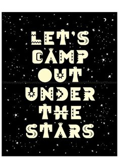 #RVing ★ Let's Camp Out Under The Stars ★