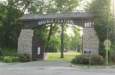 Ravinia, Highland Park, the oldest outdoor music festival (park) in the U., on the shores of Lake Michigan. Chicago Area, Chicago Illinois, Evanston Illinois, My Kind Of Town, Lake Michigan, The Neighbourhood, Outdoor Structures, City, Places