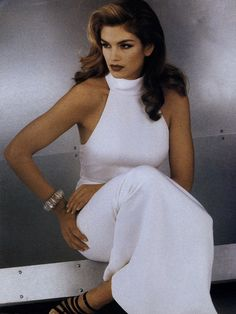 Cindy Crawford by Sheila Mezner for Vogue 1992