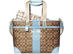 Coach laptop bag.