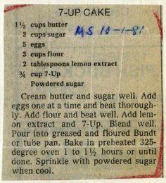 7UP Cupcake