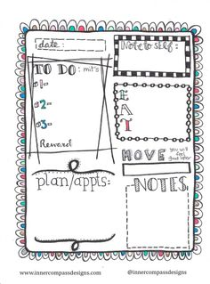 Inner Compass: Free Daily Planner Printable