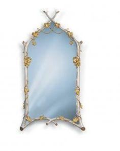 Twig & Ivy Mirror | Carvers' Guild