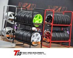 NZO-RC-Drift-Car-Tire-Rack-1-10-Wheel-Rims-Drift-Tire-Speedline-MST-HPI-Tamiya