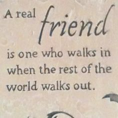 Are you a real #friend? #quote #motivation http://www.betterdaystv.net
