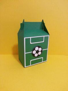 Lembrancinha Futebol- Caixa Sacolinha