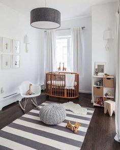 So cute gender neutral nursery design idea. Great for both a baby boy or girl :)