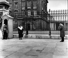 Atelier Robert Doisneau | Galeries virtuelles des photographies de Doisneau - Photographes ~ Buckingham Palace   1950