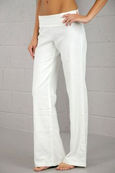 Linen Roll Over Pants available at www.ABoutiqueShop.com Also in Dark Coral and Turquoise