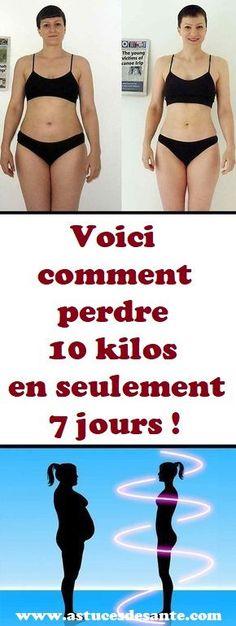 Voici comment perdre 10 kilos en seulement 7 jours!#maigrir #perdredupoids #régimealimentaire #régime #alimentation