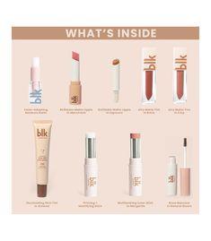 Lip Switch, Blk Cosmetics, Beauty Care, Beauty Hacks, Brow Mascara, Creative Artwork, Loose Powder, Natural Brown, Full Set