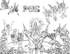 Tinkerbell neverbeast coloring pages ~ Free Tinker Bell and the Legend of the Neverbeast Coloring ...