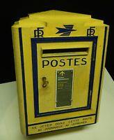 boite aux lettres la poste p t t tole foulon 1930 dans objets deco gedc68031 768x1024. Black Bedroom Furniture Sets. Home Design Ideas