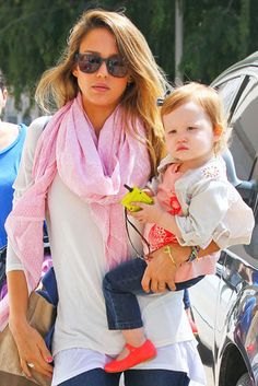 Barneys With the Baby | Jessica Alba brought her daughter Haven Warren along for a retail run in LA on Tuesday.