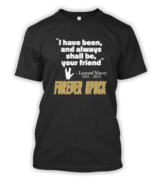 Forever Spock T-Shirt.